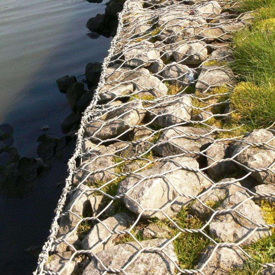 城市景观生态石笼网