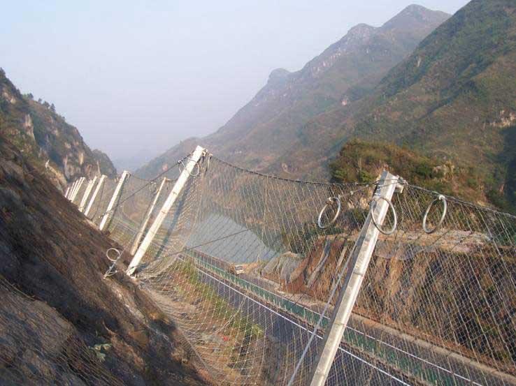 深圳边坡防护网的用途及发展