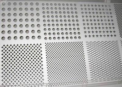 圆孔冲孔网可以用作展销台吗?