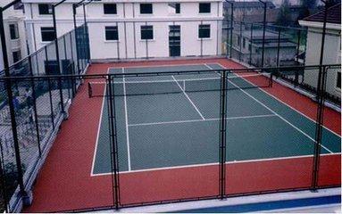 球场围栏网表面处理