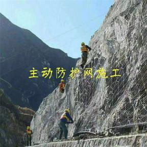 深圳边坡防护网主动防护网